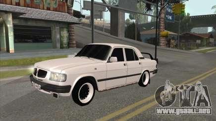 Volga 3110 BlackWhite para GTA San Andreas