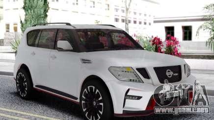 Nissan Patrol Nismo White Edition para GTA San Andreas