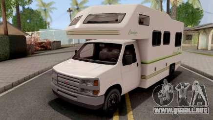 GTA V Bravado Camper IVF para GTA San Andreas