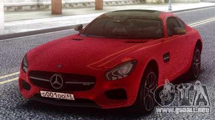 Mercedes-Benz Red AMG GT para GTA San Andreas