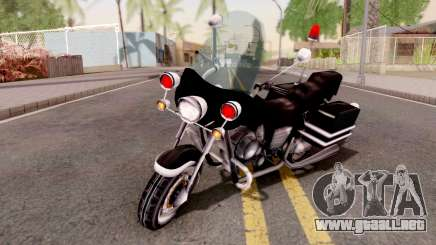VCPD WinterGreen from GTA VCS para GTA San Andreas