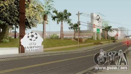 UEFA Champions League Stadium (2010-2012) para GTA San Andreas
