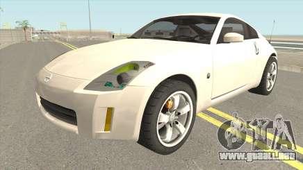 Nissan 350Z HQ para GTA San Andreas