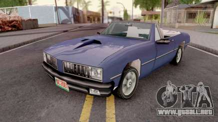 Stallion from GTA VCS para GTA San Andreas