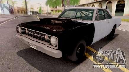 Dodge Dart HEMI Super Stock 1968 para GTA San Andreas