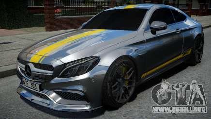 Mercedes-Benz C63 S AMG para GTA 4