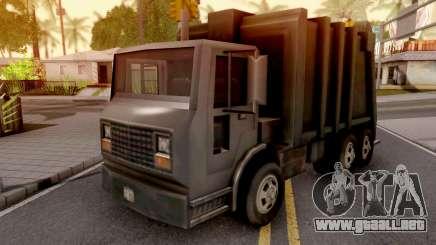 Trashmaster from GTA 3 para GTA San Andreas