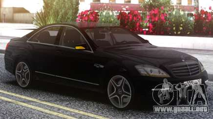 Mercedes-Benz W221 Black Edition para GTA San Andreas