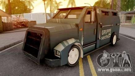 Securicar from GTA VCS para GTA San Andreas