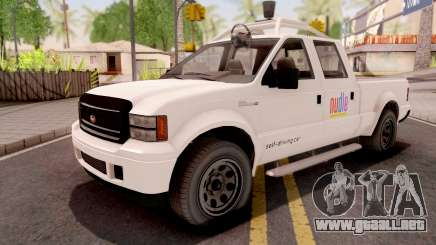 GTA V Vapid Sadler Nudle Self-Driving Car para GTA San Andreas