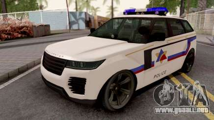 Gallivanter Baller 2014 Hometown PD Style para GTA San Andreas