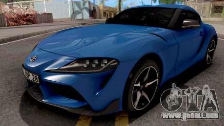 Toyota Supra A90 2020 para GTA San Andreas
