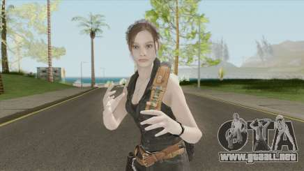 Claire Redfield Classic Lost MC para GTA San Andreas