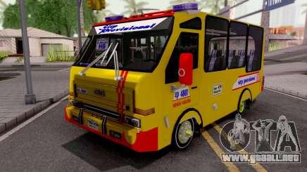 Daihatsu Delta Colectivo Colombiano para GTA San Andreas