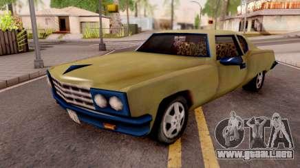 Yardie Lobo from GTA 3 Yellow para GTA San Andreas