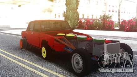 VAZ 2106 4 Motor para GTA San Andreas