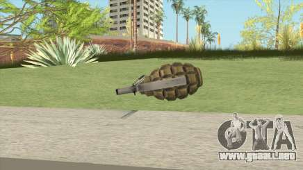 Grenades F1 para GTA San Andreas