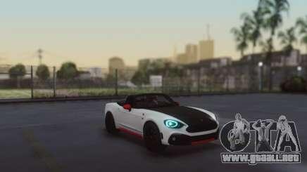 Fiat 124 Spider para GTA San Andreas