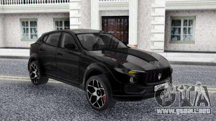 Maserati Levante Novitec Crossover para GTA San Andreas