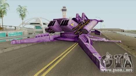 Shockwave Vehicle (Transformers The Game) para GTA San Andreas