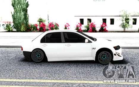 Mitsubishi Lancer Evo 9 para GTA San Andreas