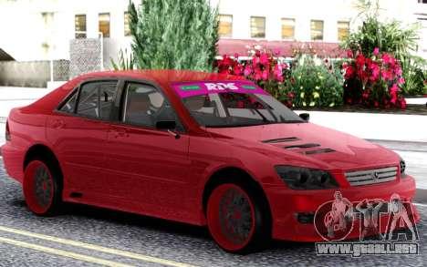 Toyota Alteza para GTA San Andreas
