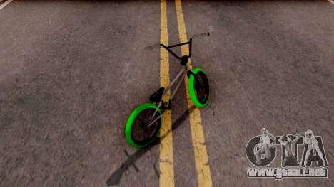 BMX GREENLINE AB2 para GTA San Andreas
