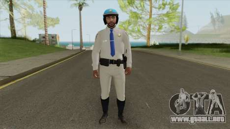 SAHP Biker V3 (GTA Online) para GTA San Andreas