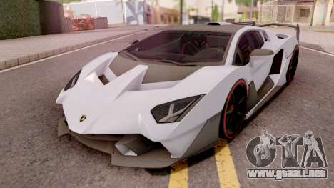 Lamborghini SC18 Alston 2019 para GTA San Andreas