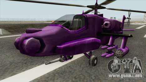 Shockwave Helicopter (Transformers The Game) para GTA San Andreas