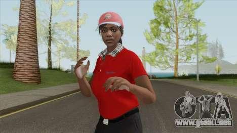 GTA Online Skin V3 (Restaurant Employees) para GTA San Andreas