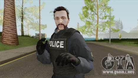 GTA Online Skin V5 (Law Enforcement) para GTA San Andreas