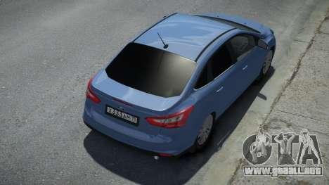 Ford Focus 3 Sedan para GTA 4