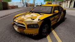 Dodge Charger SRT8 Taxi Itasha