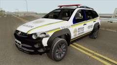 FIat Palio Weekend (Brigada Militar) para GTA San Andreas