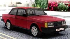 Volvo 242 Intercooler Turbo Red para GTA San Andreas