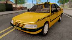 Peugeot 405 GLX Taxi para GTA San Andreas