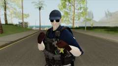 Costa Rica Police Skin (Fuerza Publica) para GTA San Andreas