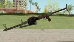 COD WW2 - MG-15 Anti-Aircraft MG (Extended) para GTA San Andreas