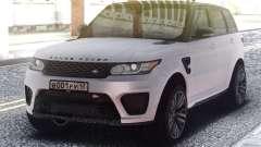 Range Rover Sport SVR White para GTA San Andreas