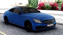 Mercedes-Benz C63 Classic Coupe para GTA San Andreas