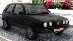 Volkswagen Golf II Black para GTA San Andreas