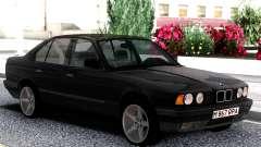 BMW 525i E34 1992 Black Classic para GTA San Andreas