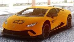 Lamborghini Huracan Performance D3 para GTA San Andreas
