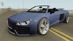 9F Cabrio V1 GTA V para GTA San Andreas