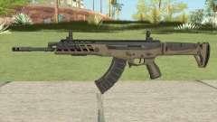 Warface AK-Alfa Desert (Without Grip) para GTA San Andreas