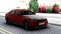 BMW M5 F90 Red-Black para GTA San Andreas