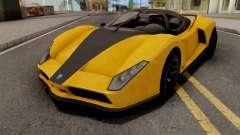 GTA V Grotti Cheetah para GTA San Andreas