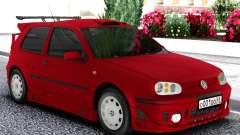 Volkswagen Golf Mk4 1999 Red para GTA San Andreas