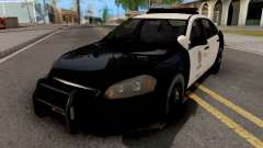 Chevrolet Impala 2007 LSPD Lowpoly